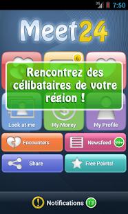Capture d'écran Meet24 – bavardage, flirt