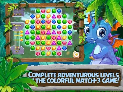 Capture d'écran 3 Bonbons:  gemmes et dragons
