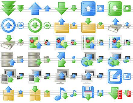 Capture d'écran Download Toolbar Icons