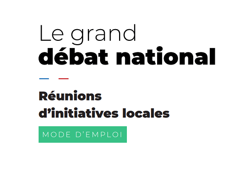Capture d'écran Le grand débat national, mode d'emploi PDF