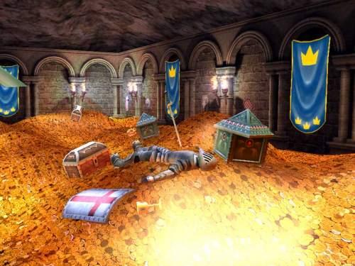 Capture d'écran Treasure Vault 3D Screensaver