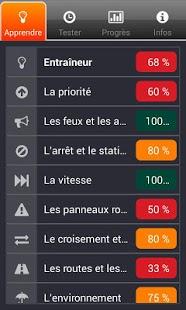 Capture d'écran IThéorie Belge – Ton Permis