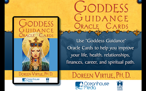Capture d'écran Heal with Angels Oracle Cards