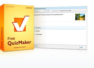 Capture d'écran Free QuizMaker by iSpring