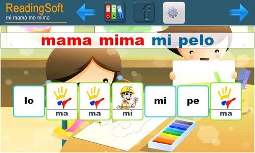 Capture d'écran Curso 5 Aprender a Leer
