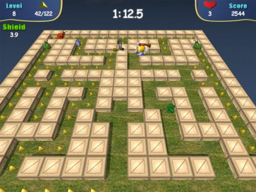 Capture d'écran PakMan 2008