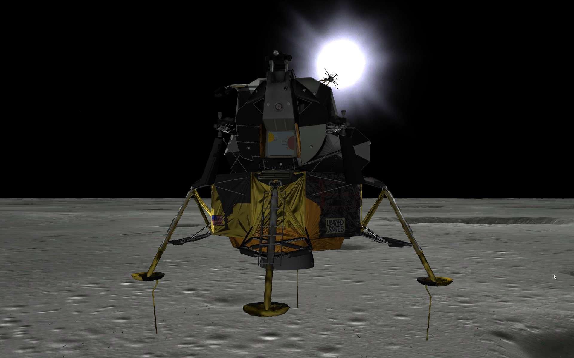 Capture d'écran Eagle Lander 3D