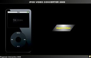 Capture d'écran iPOD Video Converter 2010