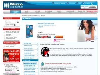 Capture d'écran Antivirus Personnel 2010