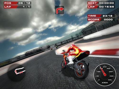 Capture d'écran Superbike Racers