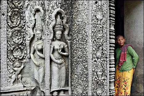 Capture d'écran ecran-de-veille.ORG Cambodge