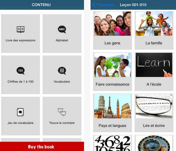 Capture d'écran Apprendre 50 langues iOS