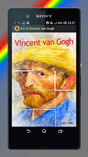 Capture d'écran Art de Vincent Van Gogh