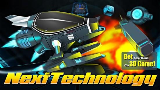 Capture d'écran Next Technology Theme 3D LWP