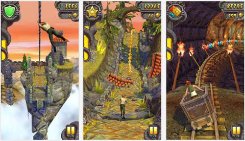 Capture d'écran Temple Run 2 Android