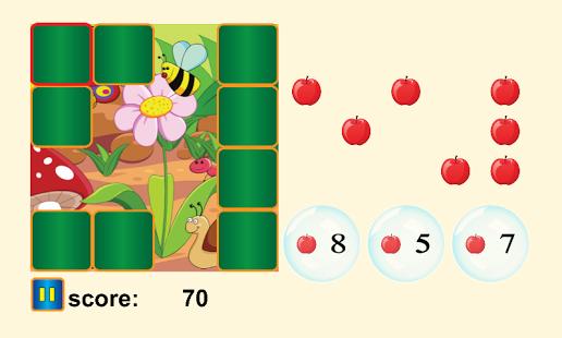 Capture d'écran Math pour les enfants