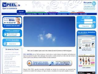 Capture d'écran PEEL SHOPPING