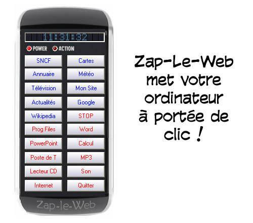 Capture d'écran Zap-Le-Web