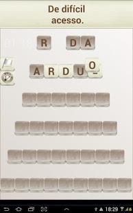 Capture d'écran Palavras  ( Português )