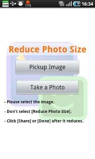 Capture d'écran Reduce Photo Size
