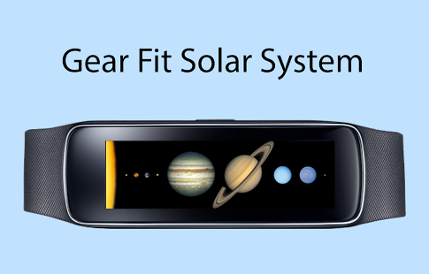 Capture d'écran Gear Fit Solar System