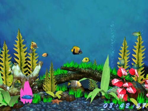 Capture d'écran Fish Aquarium 3D Ecran de veille