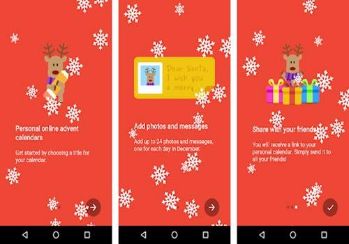 Capture d'écran MyAdvent – Calendrier de l'avent 2018 Android
