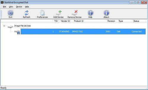 Capture d'écran StarWind Virtual CD