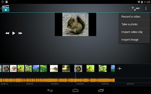 Capture d'écran Video Maker Movie Editor