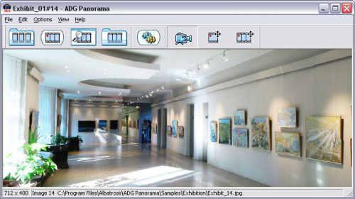 Capture d'écran ADG Panorama Tools