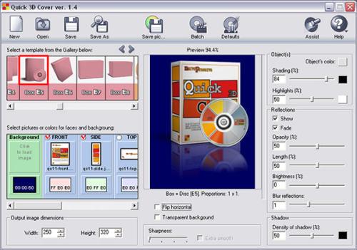 Capture d'écran Quick 3D Cover