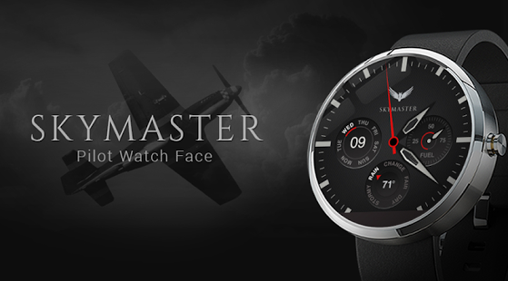 Capture d'écran Skymaster Pilot Watch Face