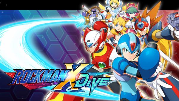 Capture d'écran Mega Man X Dive IOS ok