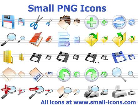 Capture d'écran Small PNG Icons