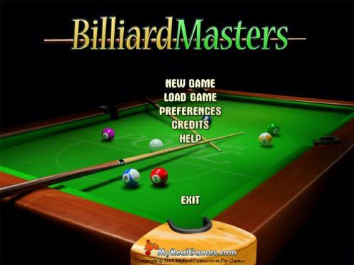 Capture d'écran Billiard Masters