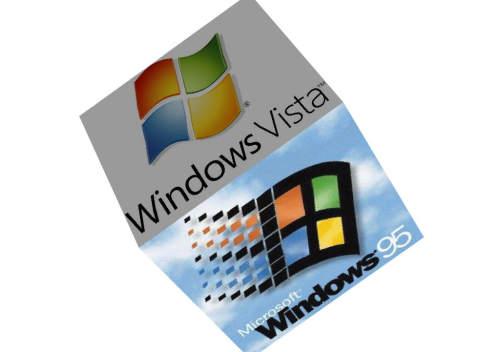 Capture d'écran Windows cube 3D