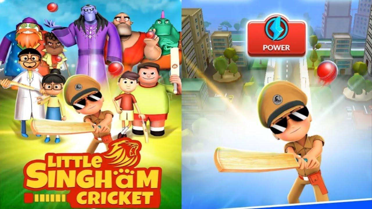 Capture d'écran Little Singham Cricket Android