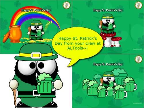 Capture d'écran Saint Patricks Day Desktop Wallpapers 2006