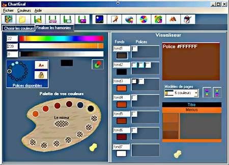Capture d'écran CharteGraf