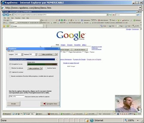Capture d'écran Rapidemo créez votre catalogue flash