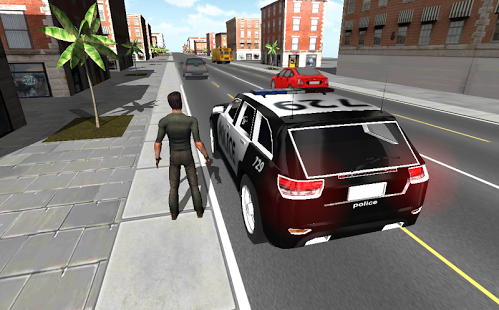 Capture d'écran Police Car Driver 3D