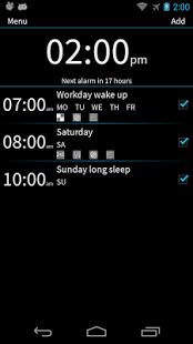 Capture d'écran I Can't Wake Up! Alarm Clock