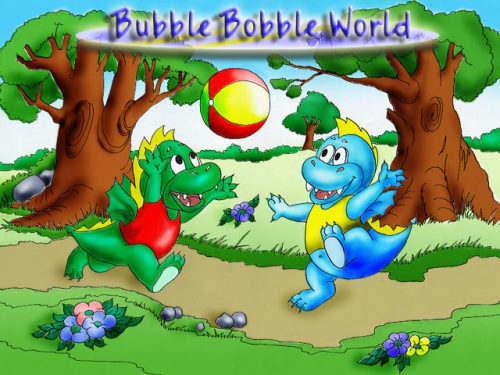 Capture d'écran Bubble Bobble World