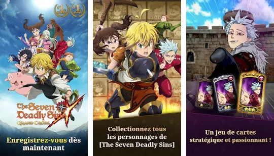 Capture d'écran The Seven Deadly Sins: Grand Cross Android