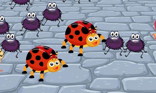 Capture d'écran Insectes vers jeu pour enfants