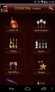 Capture d'écran Cocktail Mantra- Drink Recipes