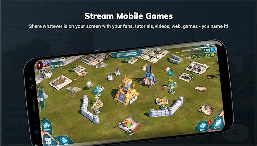 Capture d'écran Streamlabs IOS