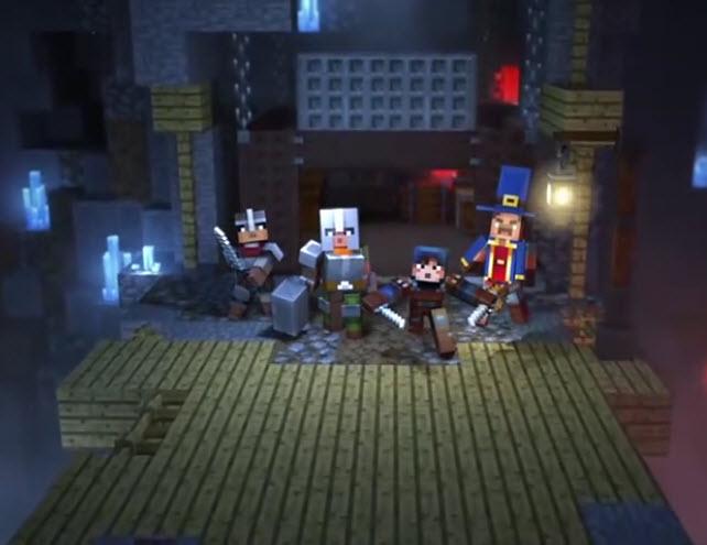 Capture d'écran Minecraft Dungeons