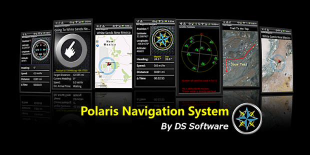 Capture d'écran Polaris Navigation GPS