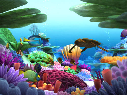 Capture d'écran Marine Life 3D Screensaver